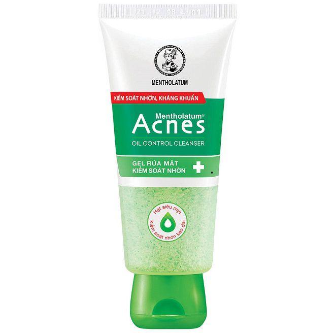 gel rua mat Acnes Oil Control Cleanser