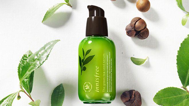 review Innisfree Green Tea Seed Serum