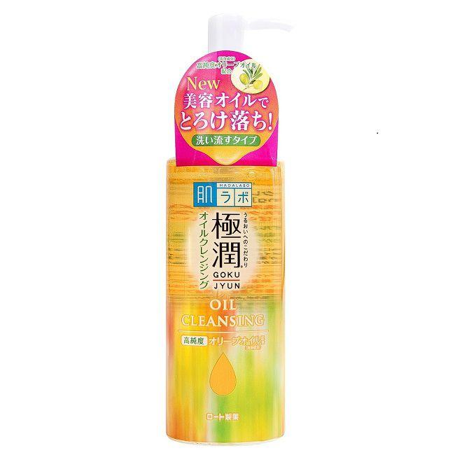 tay trang Hada Labo Gokujyun Cleansing Oil