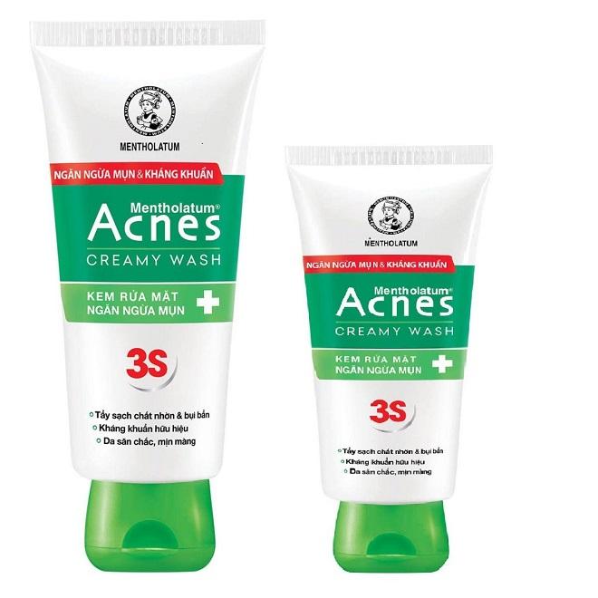 review chi tiet sua rua mat acnes
