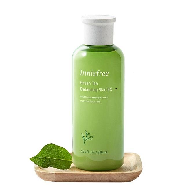 Toner Innisfree Green Tea Balancing Skin EX