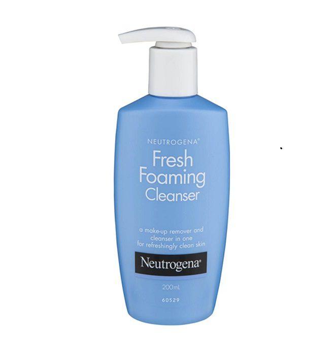review sua rua mat Neutrogena Fresh Foaming Cleanser