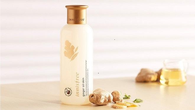 nuoc hoa hong Innisfree Ginger Oil Skin