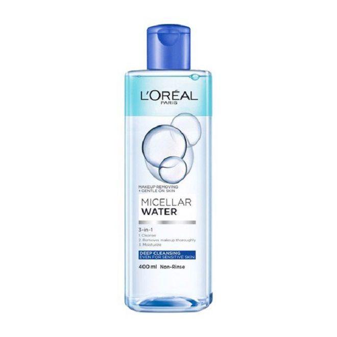 L'Oreal Paris Micellar Water 3 In 1 Deep Cleansing