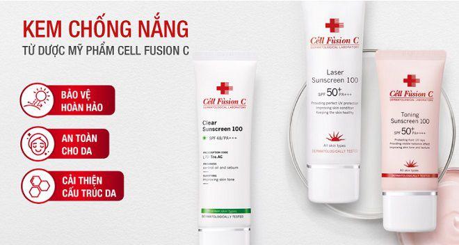 vai net ve thuong hieu my pham cell fusion c